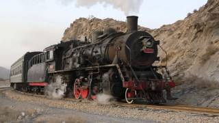 China Steam 2013 - Part 3 - Passenger trains in Baiyin