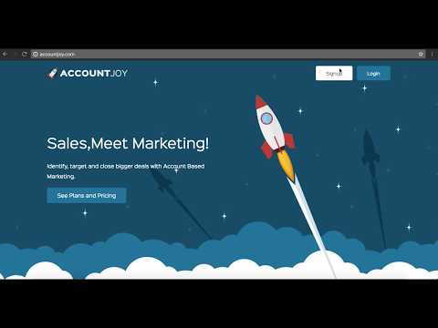 Introduction to AccountJoy