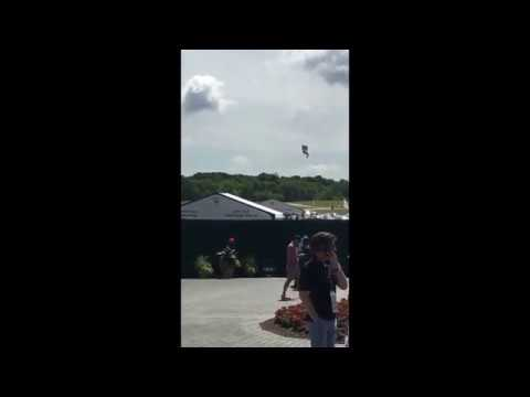 PenFed Blimp Catches Fire and Crashes at US Open in Wisconsin