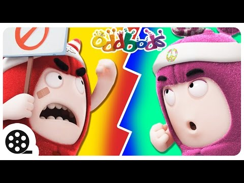 Thumbnail: Oddbods Cartoon Funny Full Compilation | ELECTION FEVER | Oddbods For A Cause | Cartoon For Kids