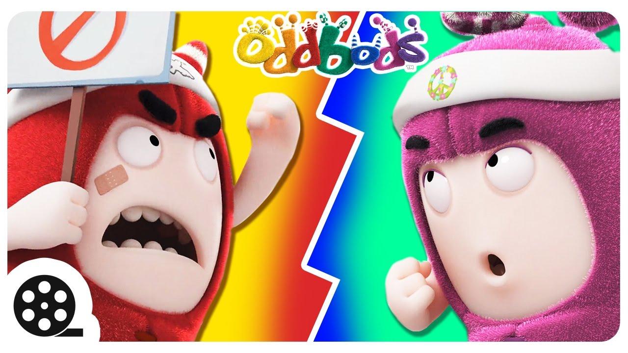 Oddbods | ELECTION FEVER | Funny Cartoon For Kids