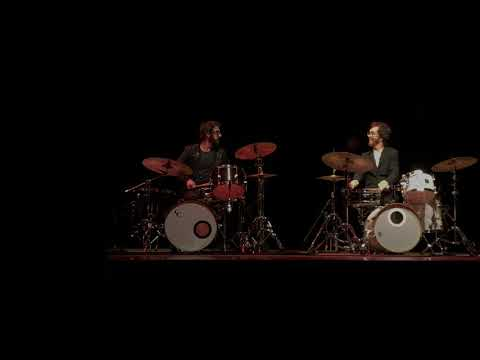 Ben Folds and Josh Groban Drum Battle