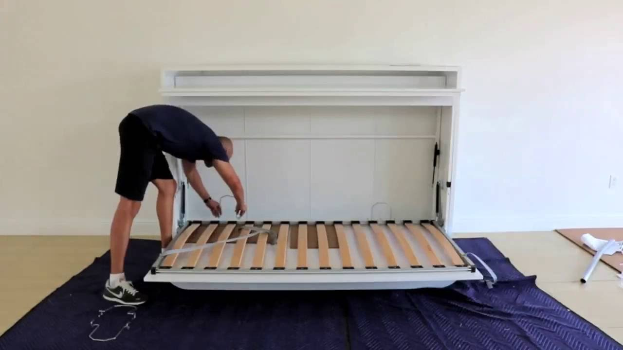 GENIO T  TWIN WALL BED WITH TABLE Assembly Guide  YouTube