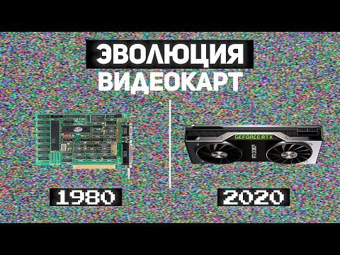 Эволюция видеокарт 1980-2020