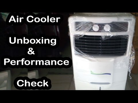 voltas mini AIr Cooler UNBOXING & Performance check