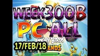 Angry Birds Friends Tournament All Levels Week 300-B PC Highscore POWER-UP walkthrough