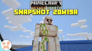 Iron Farm Changes, Bastion Change, + more! | Minecraft 1.16 Nether Update Snapshot 20w19a