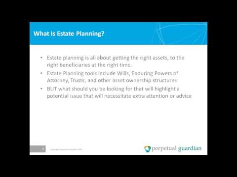 Estate Planning Series Estate Planning Red Flags