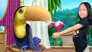 Animal Hair Salon Jungle - Wild Pets Haircut & Style Makeover Fun Kids Games By TutoTOONS