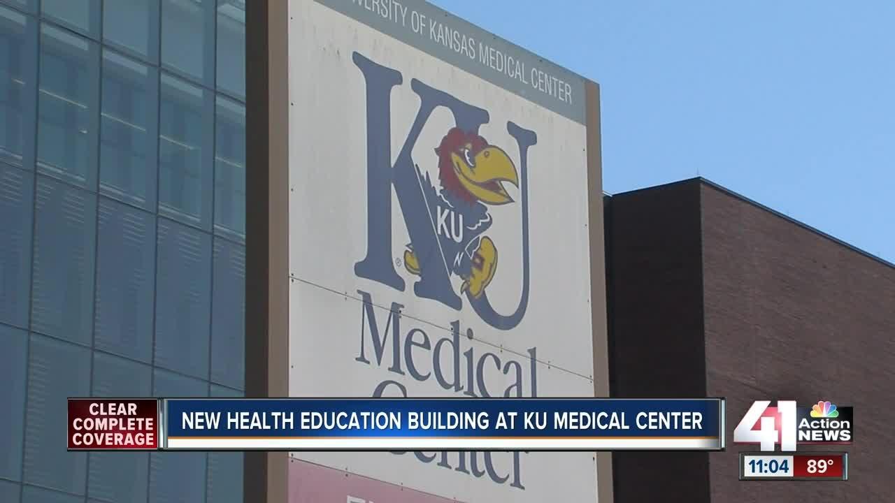 New health education building at KU Medical Center