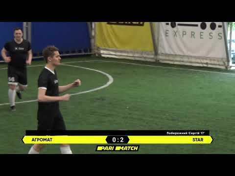 Огляд матчу | АГРОМАТ 2 : 3 STAR