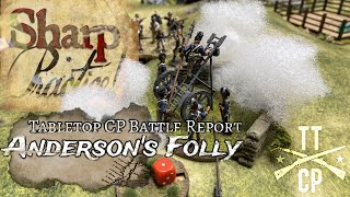 Tabletop CP: Sharp Practice Battle Report- Anderson's Folly