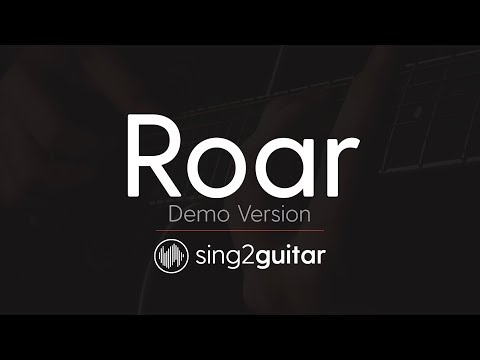 ROAR (Acoustic Guitar Karaoke) Katy Perry