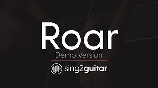 ROAR Acoustic Guitar Karaoke Katy Perry