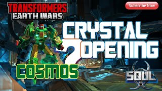 """Transformers: Earth Wars - """"Cosmos"""" Crystal Opening!!!"""