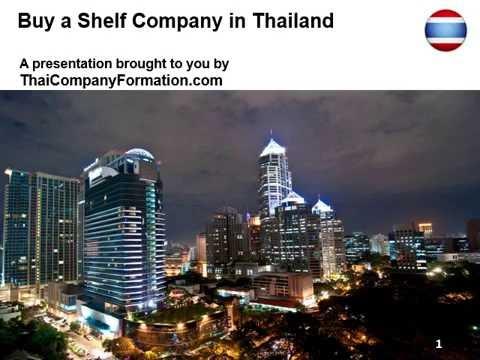 Buy a Shelf Company in Thailand
