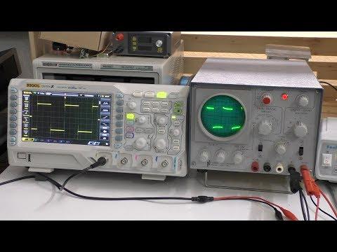 Mein erstes Analog - Oszilloskop