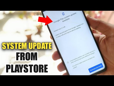 System Update From Playstore | Redmi Note 8 Pro Software & Security Update