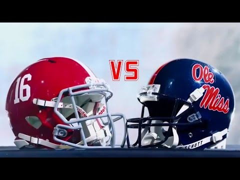 Alabama vs. Ole Miss Highlights (2016)