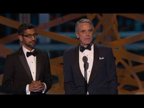 2017 Breakthrough Prize Ceremony: Jean Bourgain, Jeremy Irons, Sundar Pichai