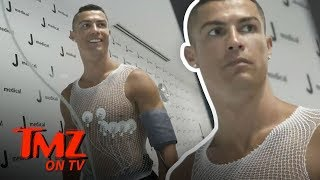 Cristiano Ronaldo Takes A VERY Expensive Physical | TMZ TV