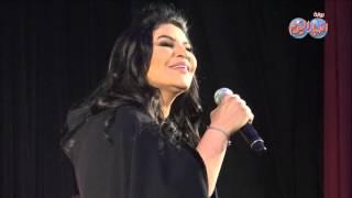 كواليس حفل ملكة العرب احلام في اوبرا مصر
