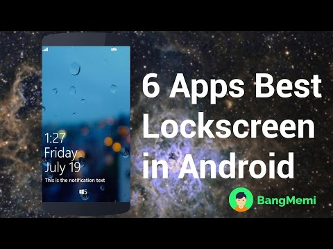 6 Apps Best Lockscreen In Android