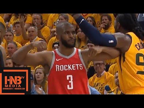 Utah Jazz vs Houston Rockets 1st Half Highlights / Game 4 ...