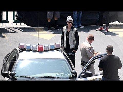 Justin Bieber Arrested For Speeding