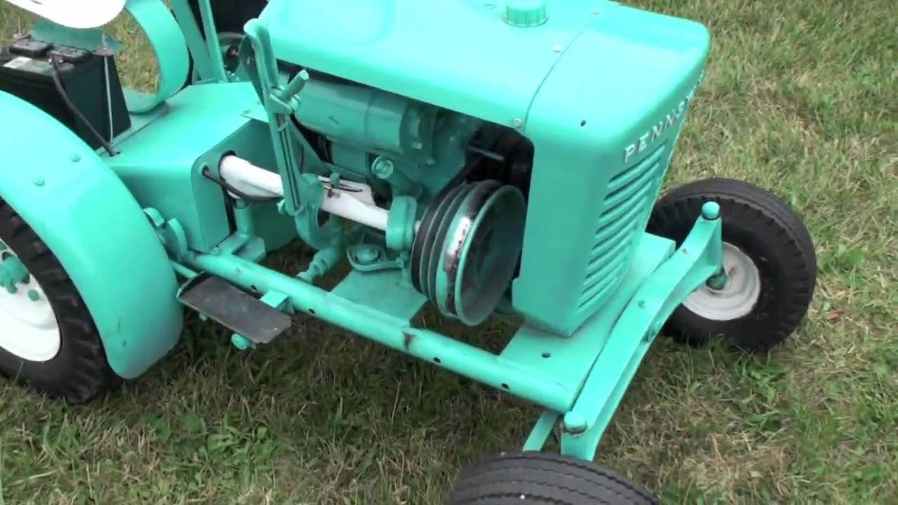 Small garden tractors vintage or antique