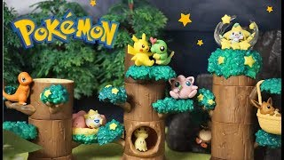 Pokemon Re-Ment toy !「pokemon forest2」unboxing!!