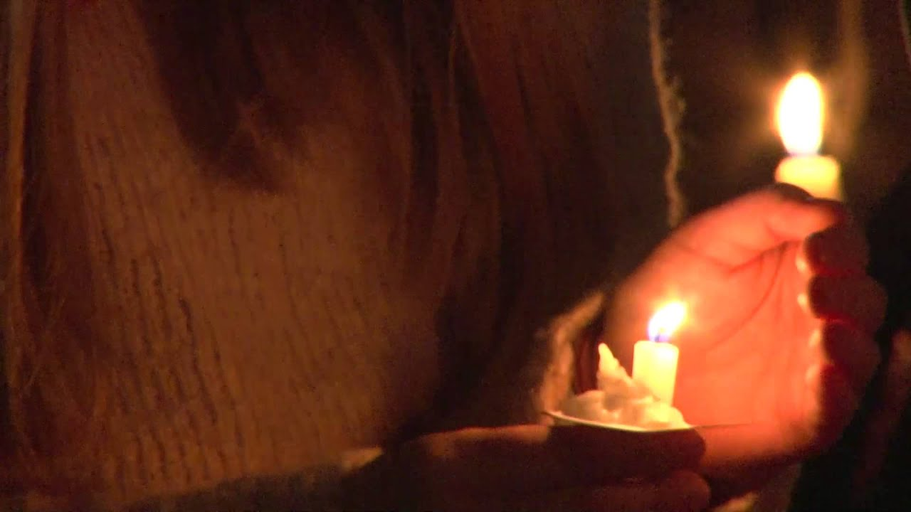 osu students hold candlelight