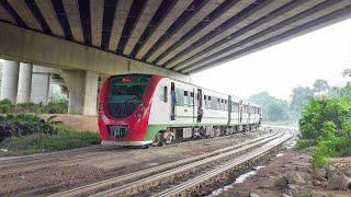 Loss project of Bangladesh Railway DEMU Train Kaliakoir Commuter passing away under Banani Overpass