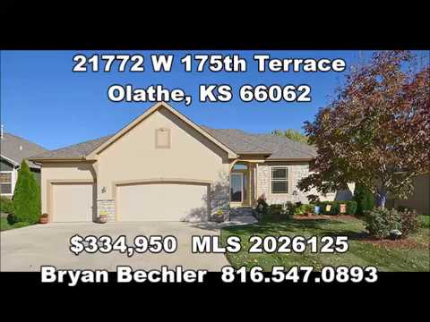 21772 W 175th Terrace Olathe, KS Virtual Tour - new price!