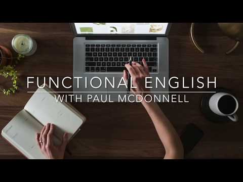 Introduction to Functional English Fall 2017