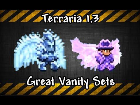 Terraria 1.3 Great Vanity Sets
