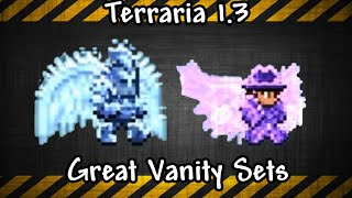 Terraria 1.3 Great Vanity Sets