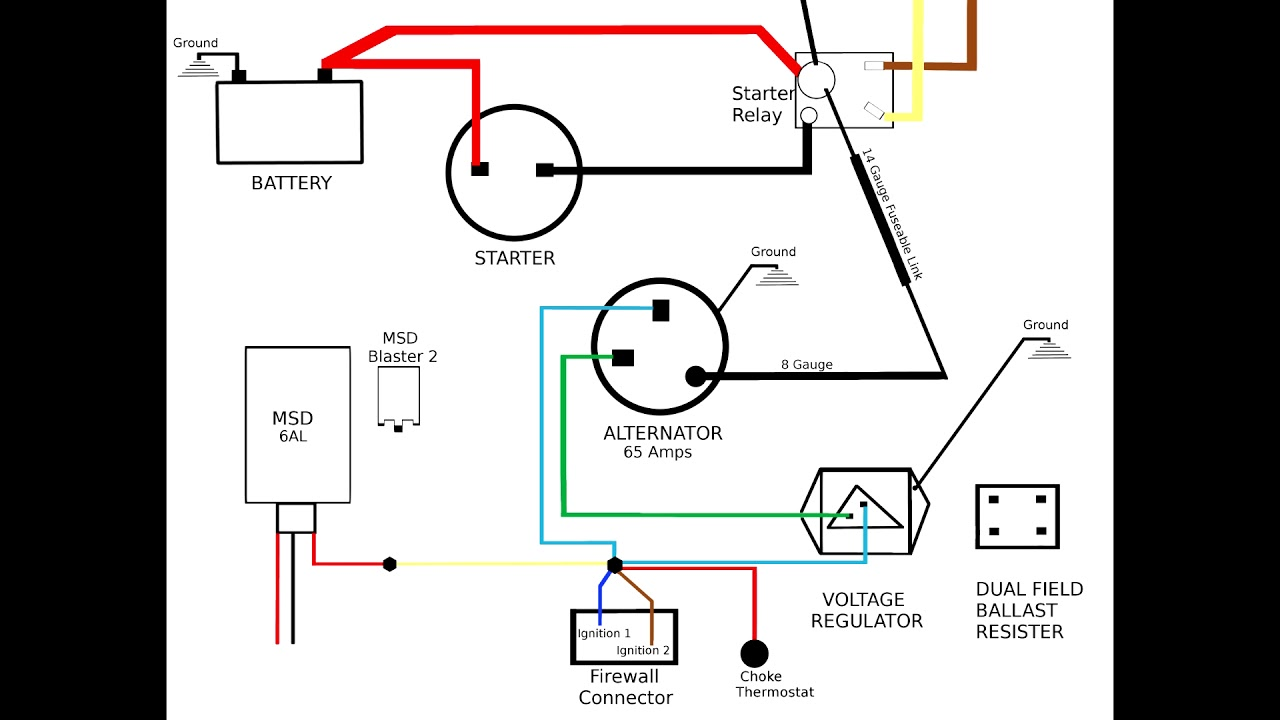 72 Duster Charging System Diagram