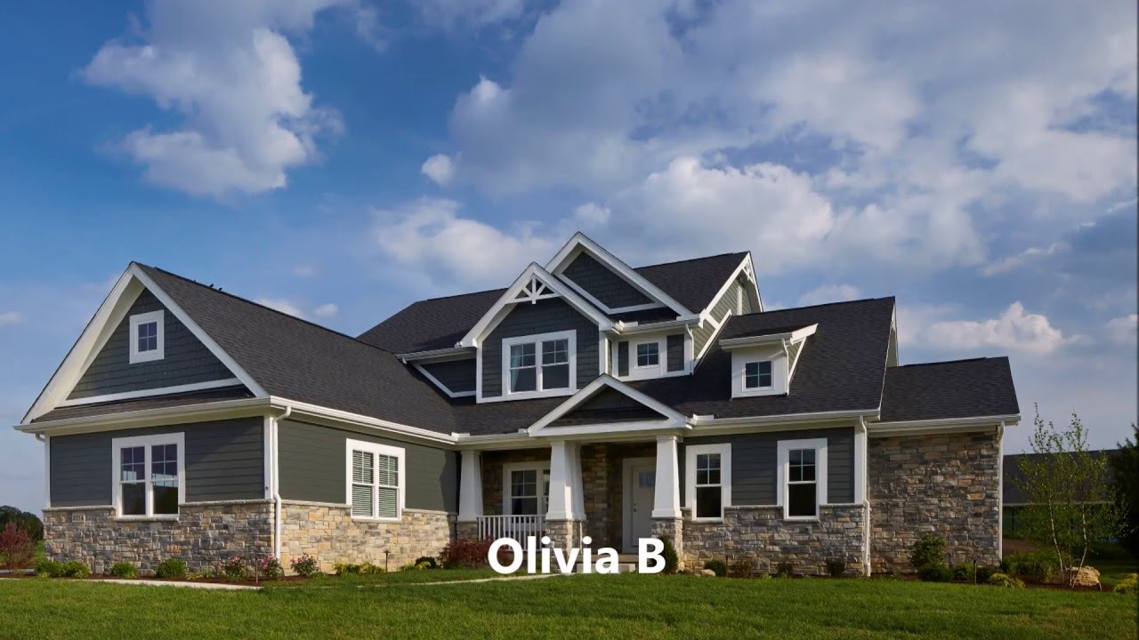 Schumacher Homes Walkthrough Olivia B Model Part 4