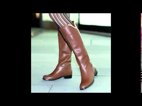 Темно-коричневые Зимние Женские Кожаные Ботинки TIMBERLAND на меху .