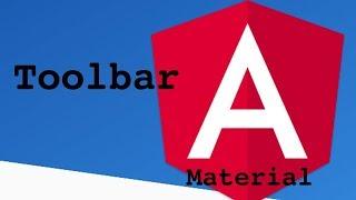 Angular Material Toolbar Tutorial