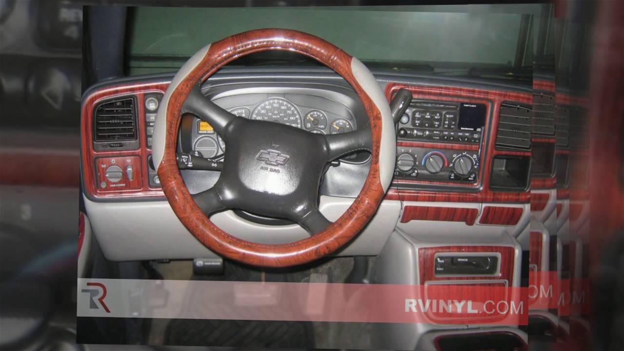 Rdash 1999 2002 chevrolet silverado dash kits youtube - Chevy avalanche interior trim parts ...