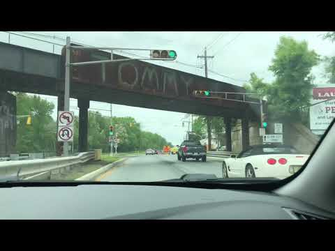 Crazy police activity in Bordentown New Jersey