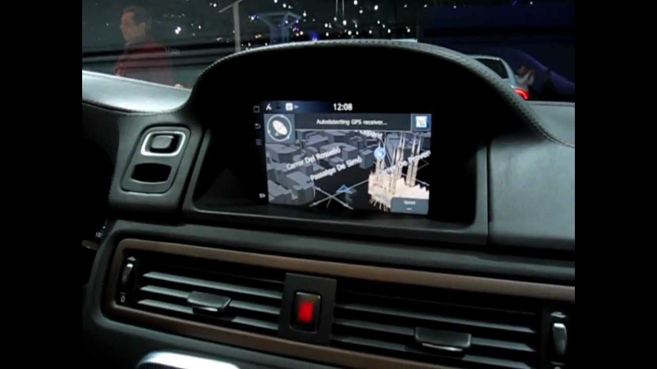 IHS Auto Reviews: Volvo Sensus Connected Touch Demonstration - YouTube