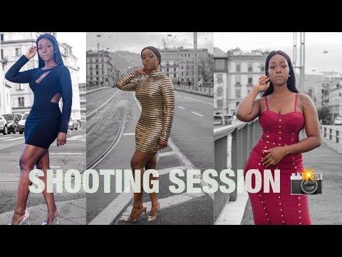 SESSION SHOOT SUR LA ROUTE EN HEURE DE POINTE !