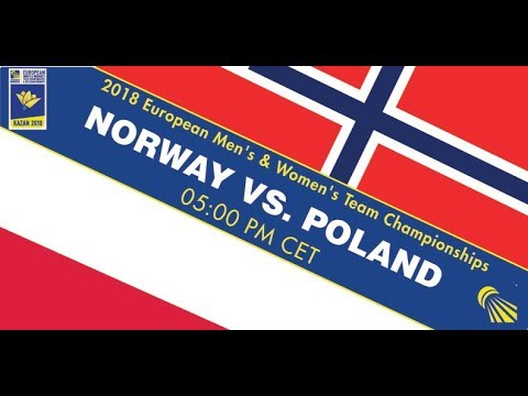 2018 EWTC Norway - Poland (Court 5)