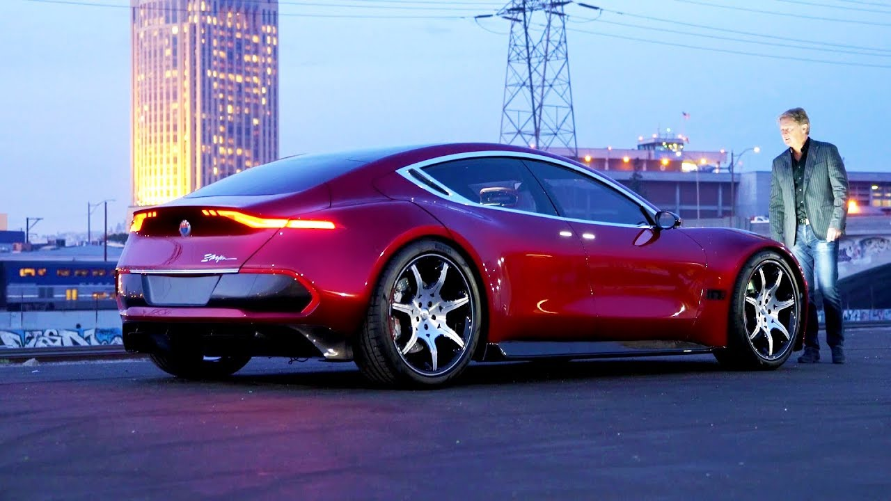 2020 Fisker Emotion Behind The Scenes Exclusive