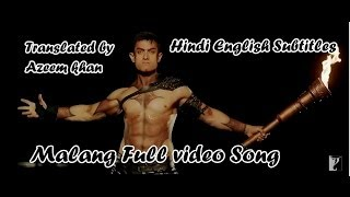 Dum Malang Ishq Hindi English Subtitles Full Song Dhoom 3 HD Exclusive Full Video Song