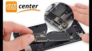 iPhone 7 не заряжается, замена контроллера питания (Tristar 610A3B)