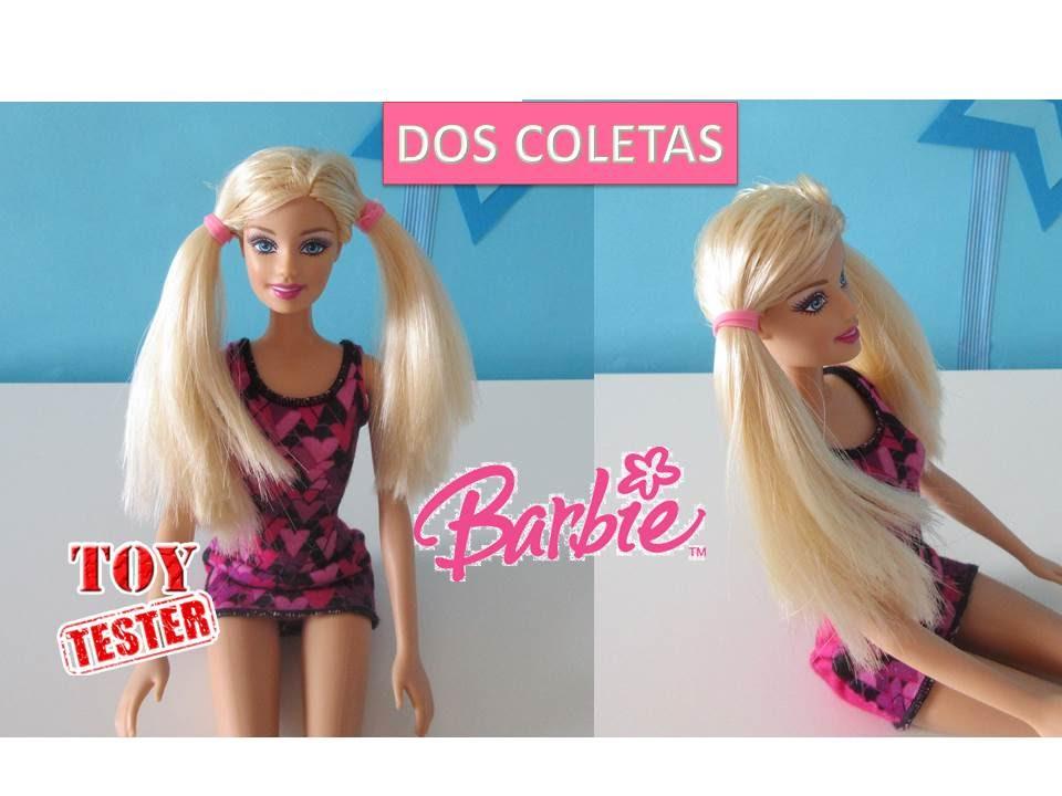 Hacer Dos Coletas Niñas Barbie Para A Peinados Fáciles Juguetes MuñecasCómo v80mNwn